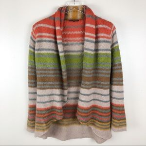 Anthropologie Wooden Ships Striped Cardigan